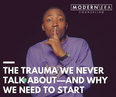 The Trauma We Never Talk About—And Why We Need to Start