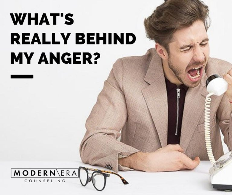 What's really behind my anger?