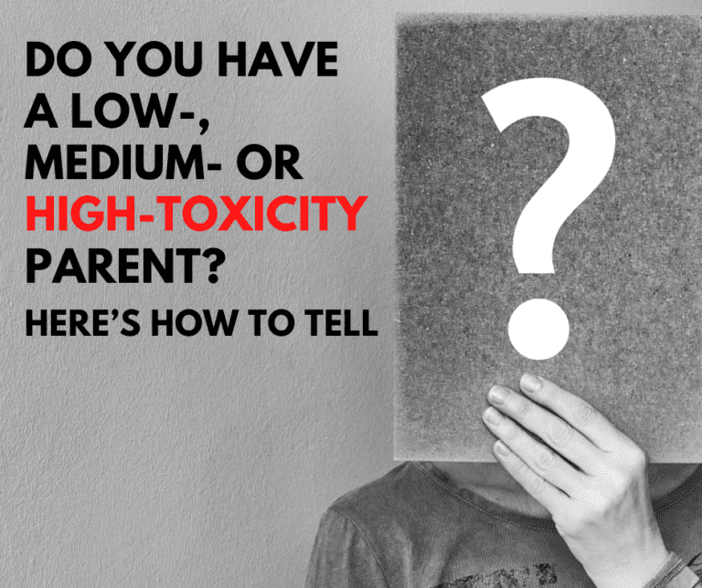 Do you have a low-, medium- or high-toxicity parent? Here's how to tell